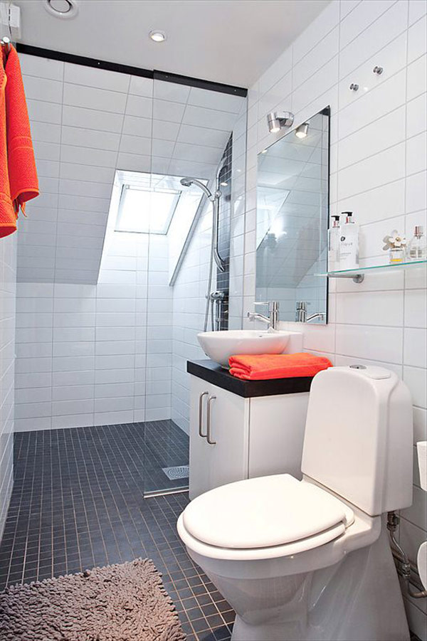 Decoracion De Baños Pequenos Departamentos:Scandinavian Bathroom Design