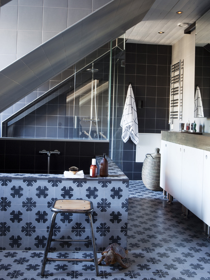 Tinas De Baño De Concreto:Crazy Bathroom Tiles