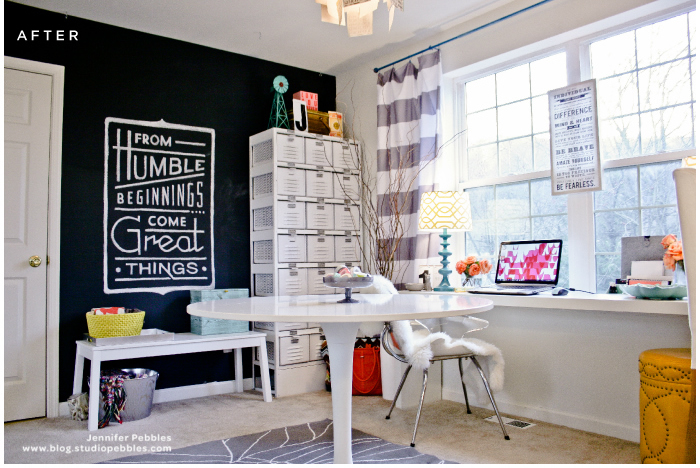 Craft room moderno via Casa Haus