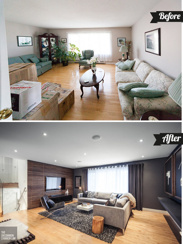 Antes y despu s archives casa haus decoraci n for Living room renovation before and after