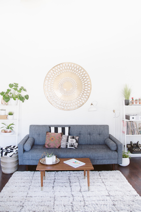 Home Tour Amber Thrane from Dulcet Creative // Casa Haus