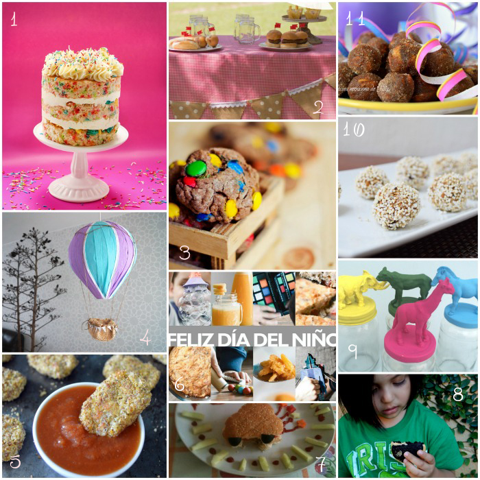 12 easy crafts and delicious recipes for children // 12 ideas para hacer y preparar para el Día del Niño // casahaus.net