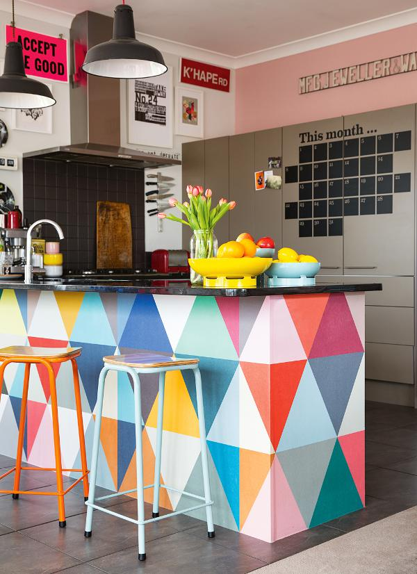 Top design trends: color in the kitchen / Tendencias de diseño: color en la cocina // casahaus.net